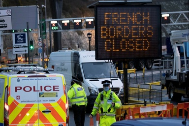 Keep trucks moving across France-UK border