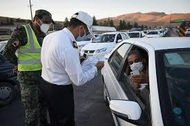 برخورد قاطع پلیس راهور با مخدوش کنندگان پلاک خودروها
