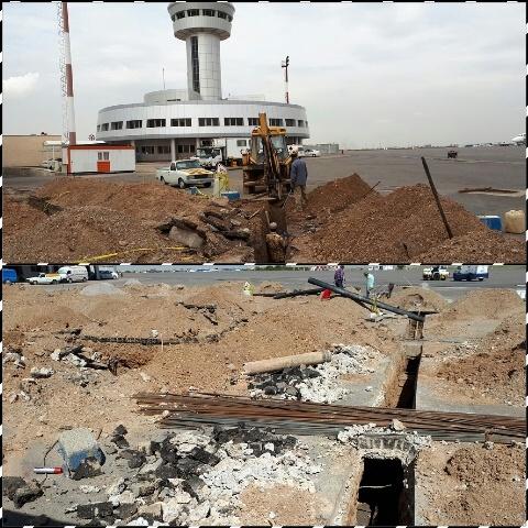 رفع موانع پروژههای توسعهای فرودگاه تبریز