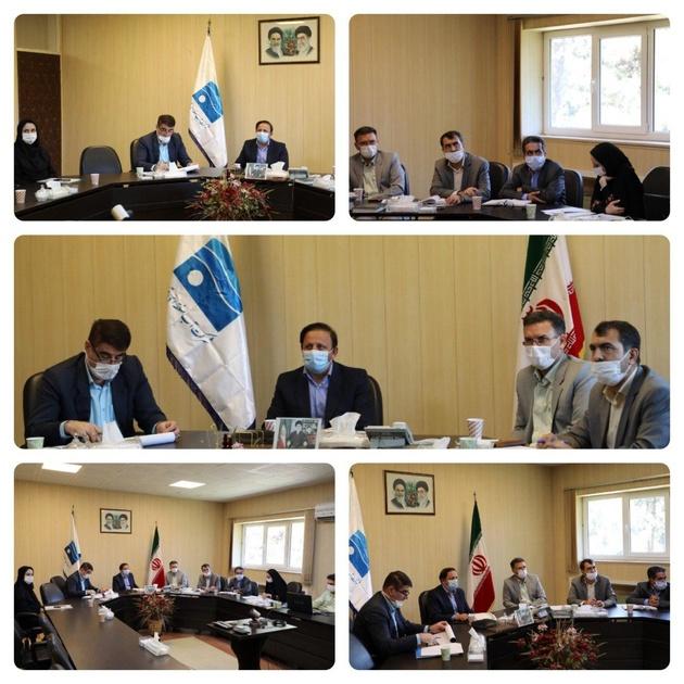 جلسه برنامه ریزی و تخصیص پساب تصفیه خانه های خانگی استان قزوین برگزار شد