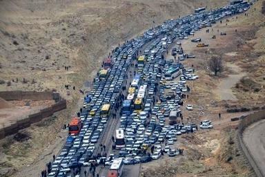 ترافیک در مسیرهای غرب کشور؛ پرحجم و روان