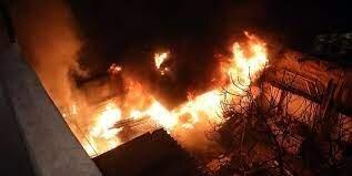 انفجار و آتشسوزی با دو کشته در اردبیل