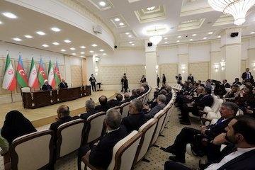 تاکید رئیس جمهور به کریدور شمال-جنوب/ روابط تهران-باکو در زمینه ترانزیت
