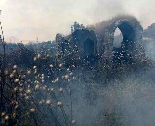 آتشسوزی در بافت تاریخی دهدشت