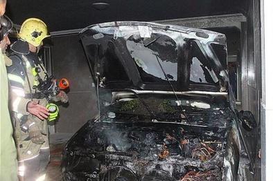 مرگ 8 نفر براثر آتش سوزی خودرو در جادههای استان زنجان