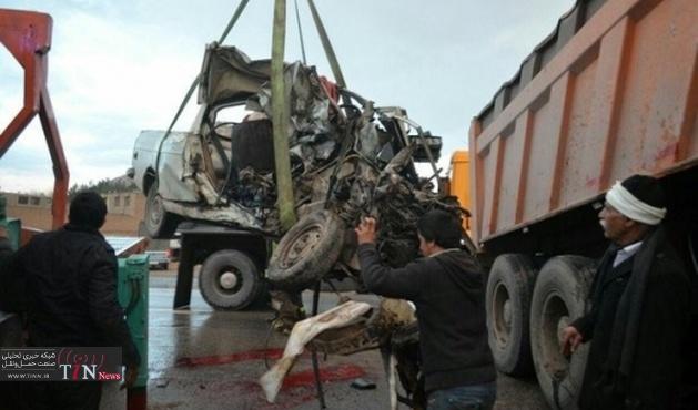تصادف مرگبار در بزرگراه آزادگان