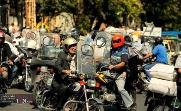 فوت ١٣۴٩ موتورسوار در تصادفات درونشهری