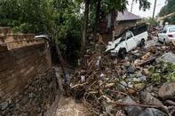 خسارتهای باران و سیل در گیلان