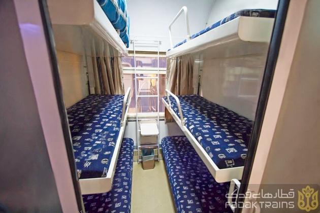 قطار ۵ ستاره زندگی رشت-مشهد به طور رسمی از چهارشنبه راه اندازی می شود