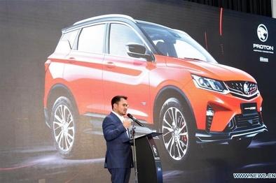 رونمایی از خودرو تولید مشترک مالزی و چین