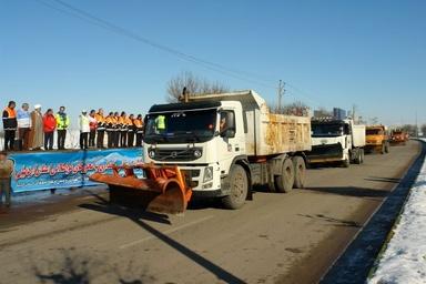 اعزام راهداران به جادههای استان اردبیل