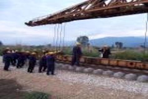 استفاده از ریل ذوب آهن در پروژه راه آهن ۱۱۵۰ کیلومتری عمان