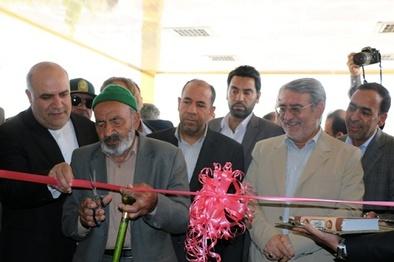 افتتاح پاویون فرودگاه بجنورد با حضور وزیر کشور