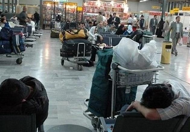رویارویی ایرلاینهای بدقول و مسافران عصبانی