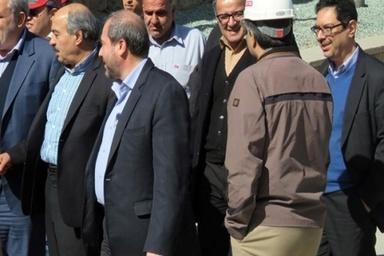 بازدید مدیرعامل گروه مپنا از پروژه خط یک مترو اصفهان