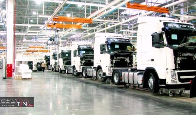 تولید کامیون در ۳ شرکت متوقف شد