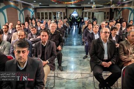 مراسم تودیع و معارفه مدیرعامل شرکت هواپیمایی آسمان