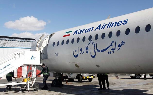 اطلاعیه سازمان هواپیمایی کشوری در خصوص فرود هواپیمایی مسیر خارک-تهران