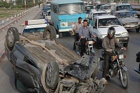 ۶ کشته و زخمی براثر واژگونی خودرو سواری ایکس ۶۰