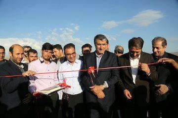 هفت کیلومتر از باند دوم محور بستان آباد-سراب-میانه افتتاح شد