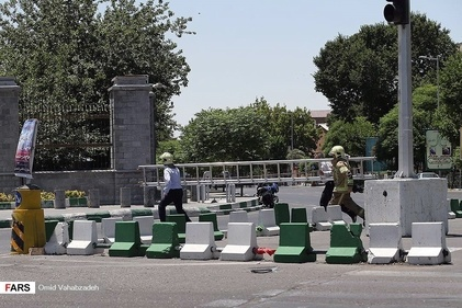 گزارش تصویری/ حمله مسلحانه به مجلس