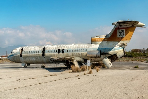 فرودگاهی که 44 سال پیش به شهر ارواح تبدیل شد