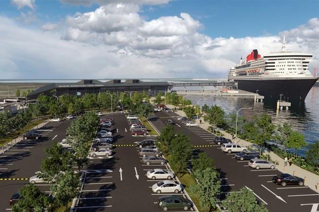 Construction of Brisbane's Mega Cruise Terminal Moves Forward