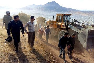 رفع تصرف 9.5 هکتار از اراضی ملی در کردستان