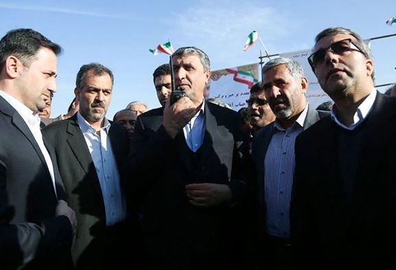 بازدید اسلامی از پروژه احداث جاده گرمسار-فیروزکوه