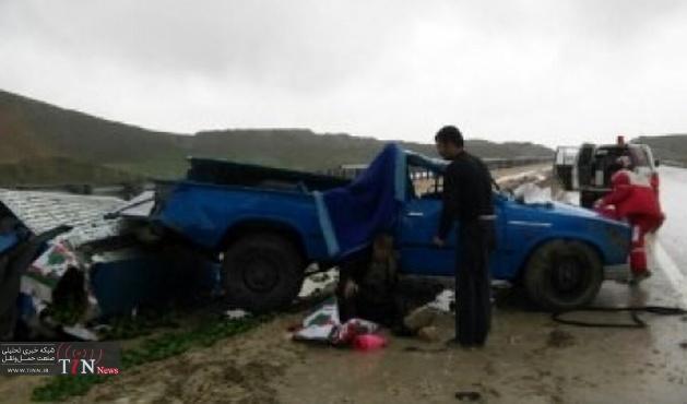 تصادف در جاده چابهار - جکیگور یک کشته برجای گذاشت