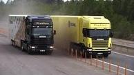 ورود کامیونهای کارکرده اروپایی به ناوگان جادهای کشور؟ + فیلم