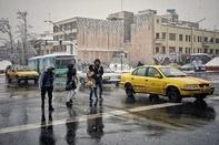 اقدامات تاکسیرانی در روزهای بارانی و برفی