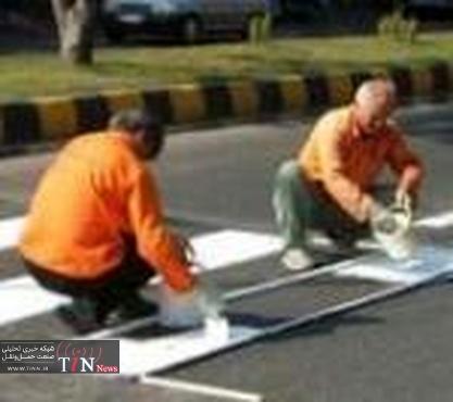 خط کشی خیابانها