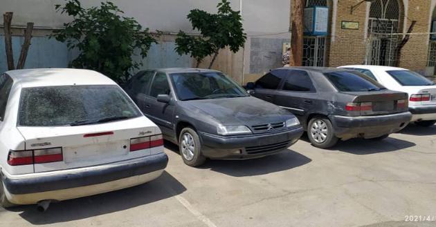 سرقت خودروهای زانتیا در اصفهان، کشف در کاشان