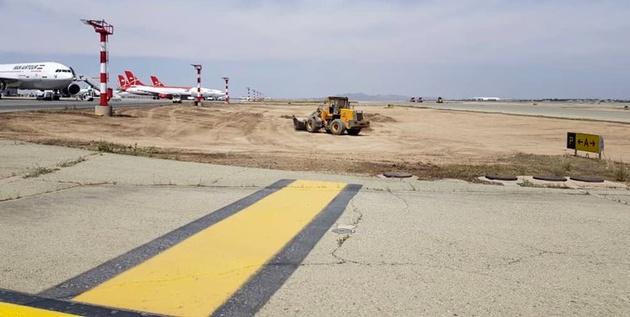 پایان مرمت سطوح پروازی فرودگاه بین المللی امام خمینی(ره) تا مهر ۱۴۰۰