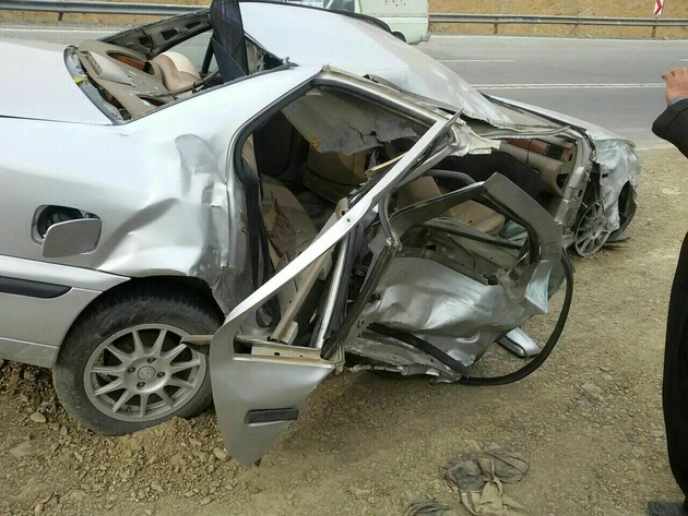 ۲ کشته و سه مجروح در تصادف جاده ای محور نگار _ بهرامجرد کرمان