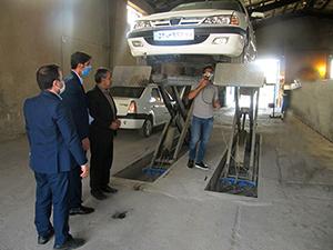 بازدید از 3 مرکز معاینه فنی در استان همدان