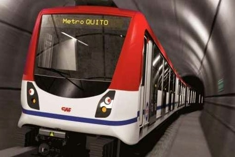 CAF to supply Quito metro trainsets