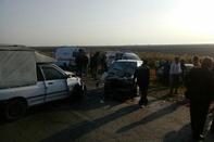 تصادف خودرو در گلستان 2 کشته برجای گذاشت