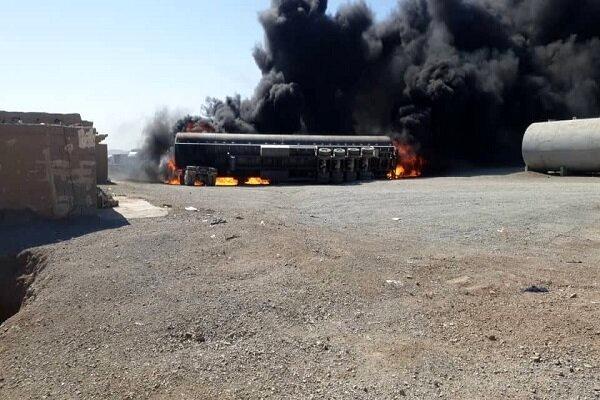 اعزام پنج دستگاه ماشین آتش نشانی به محل حریق در ماهیرود