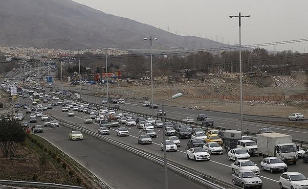 تردد بیش از 35 میلیون خودرو از محورهای مواصلاتی البرز در نوروز ۹۷