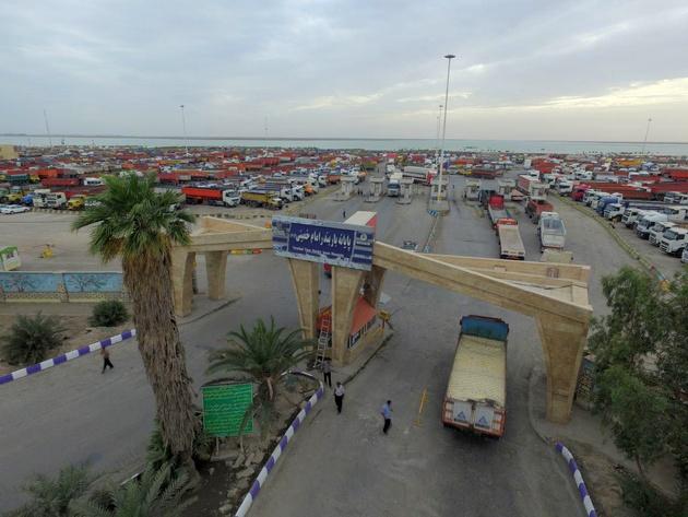 طرح نوبت مجازی حمل کالا در پایانه بار بندر امام خمینی (ره)