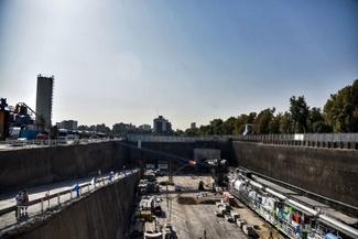 گزارش تصویری / آغاز عملیات حفاری فاز دوم خط ۳ قطار شهری مشهد