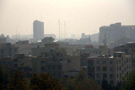 هوای تهران ناسالم برای گروههای حساس