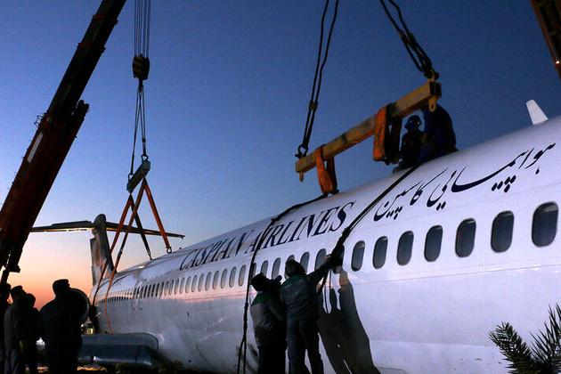 «خلبان» مقصر سانحه هواپیمایی کاسپین در بندر ماهشهر/ مدیریت ضعیف ترافیک هوایی توسط کنترلر مشهود است