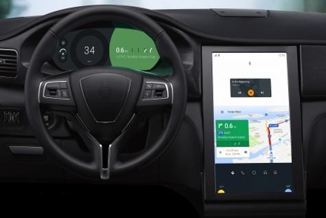 سیستمعامل جدید گوگل در خودروهای فیات