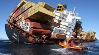 کشتی باری کشور کوموروس در آبهای ایران غرق شد