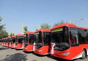 ورود ۴ اتوبوس جدید به ناوگان اتوبوسرانی همدان