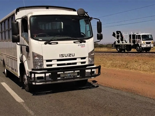 South African road-rail bus launched