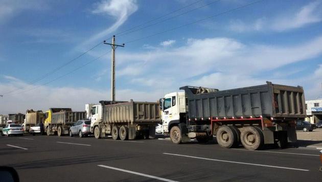 دستگیری ۲ راننده کامیون ایرانی در مرز بلغارستان